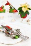 Menu di Natale Immagine Stock