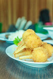 Menu do alimento vietnamiano Foto de Stock