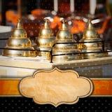 Menu do gelado Fotos de Stock Royalty Free