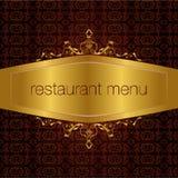 Menu do restaurante Imagens de Stock