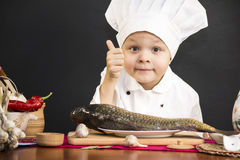 Menu of fish Royalty Free Stock Photography