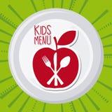 Menu and Food design Royalty Free Stock Images