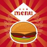 Menu and Food design Royalty Free Stock Photo