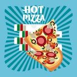 Menu and Food design Stock Photo