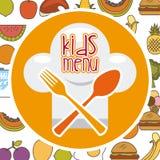 Menu and Food design Stock Photos