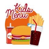 Menu and Food design Royalty Free Stock Photos