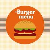 Menu and Food design Stock Images