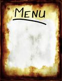 Menu. Royalty Free Stock Images