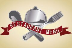 Menu Icons Stock Image