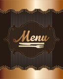 Menu Icons Royalty Free Stock Photo