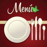 Menu Icons Stock Images
