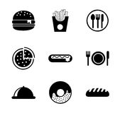 Menu icons Stock Photography