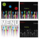 Menu illustration Royalty Free Stock Images