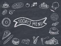 menu jest dzisiaj zdjęcia royalty free