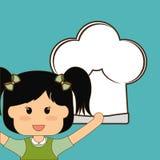 Menu Kids icon design, vector illustration Stock Images