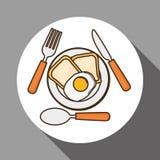 Menu Kids icon design, vector illustration, vector illustration Royalty Free Stock Photos