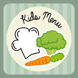 Menu kids Royalty Free Stock Photo
