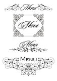 Menu Label Stock Photos