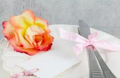 Menu, menu d'amour Photo libre de droits