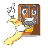 With menu mousetrap isolated with in the cartoon royalty free illustration