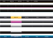 menu nawigaci sieć ilustracji
