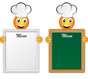 Menu panel Royalty Free Stock Image