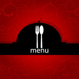 Menu pattern Royalty Free Stock Photography