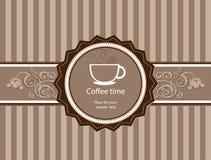 Menu per il ristorante, caffè, barra, coffeehouse Fotografia Stock Libera da Diritti