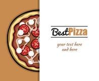 Menu For Pizzeria 4 Stock Image
