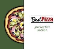 Menu For Pizzeria 5 Stock Images