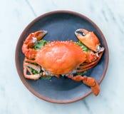 Thaimenu Queen Crab Royalty Free Stock Image