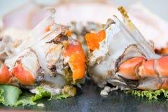 Thaimenu Queen Crab Stock Photos