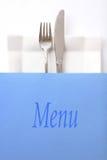 menu restauracja Obraz Royalty Free