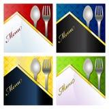 menu restauracja Zdjęcia Royalty Free