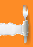 Menu restaurant background Stock Image