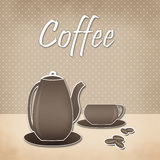 Menu for restaurant, cafe, bar, coffee house Stock Images