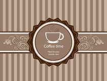 Menu for restaurant, cafe, bar, coffeehouse. Coffee background. Menu for restaurant, cafe, bar, coffeehouse Royalty Free Stock Photo