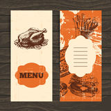 Menu for restaurant, cafe, bar, coffeehouse Stock Photos