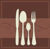 Menu or restaurant card Royalty Free Stock Image