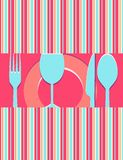 Menu or restaurant card Royalty Free Stock Photography
