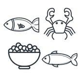 Menu restaurant design. Illustration Stock Photos