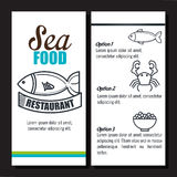 Menu restaurant design. Menu restaurant  design,  illustration Royalty Free Stock Images