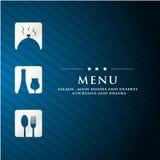 Menu restaurant presentation Stock Photo