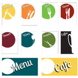 Menu set Royalty Free Stock Image