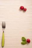 Menu simple de restaurant Photographie stock