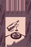 Menu style design Royalty Free Stock Photos