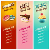 Menu sweet Royalty Free Stock Image