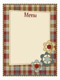 menu szablon Zdjęcia Royalty Free