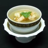 Menu tailandês do alimento, goong de tom yum imagens de stock
