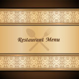 Menu template Royalty Free Stock Images